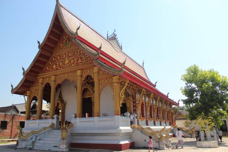 A buddhist wat (temple)