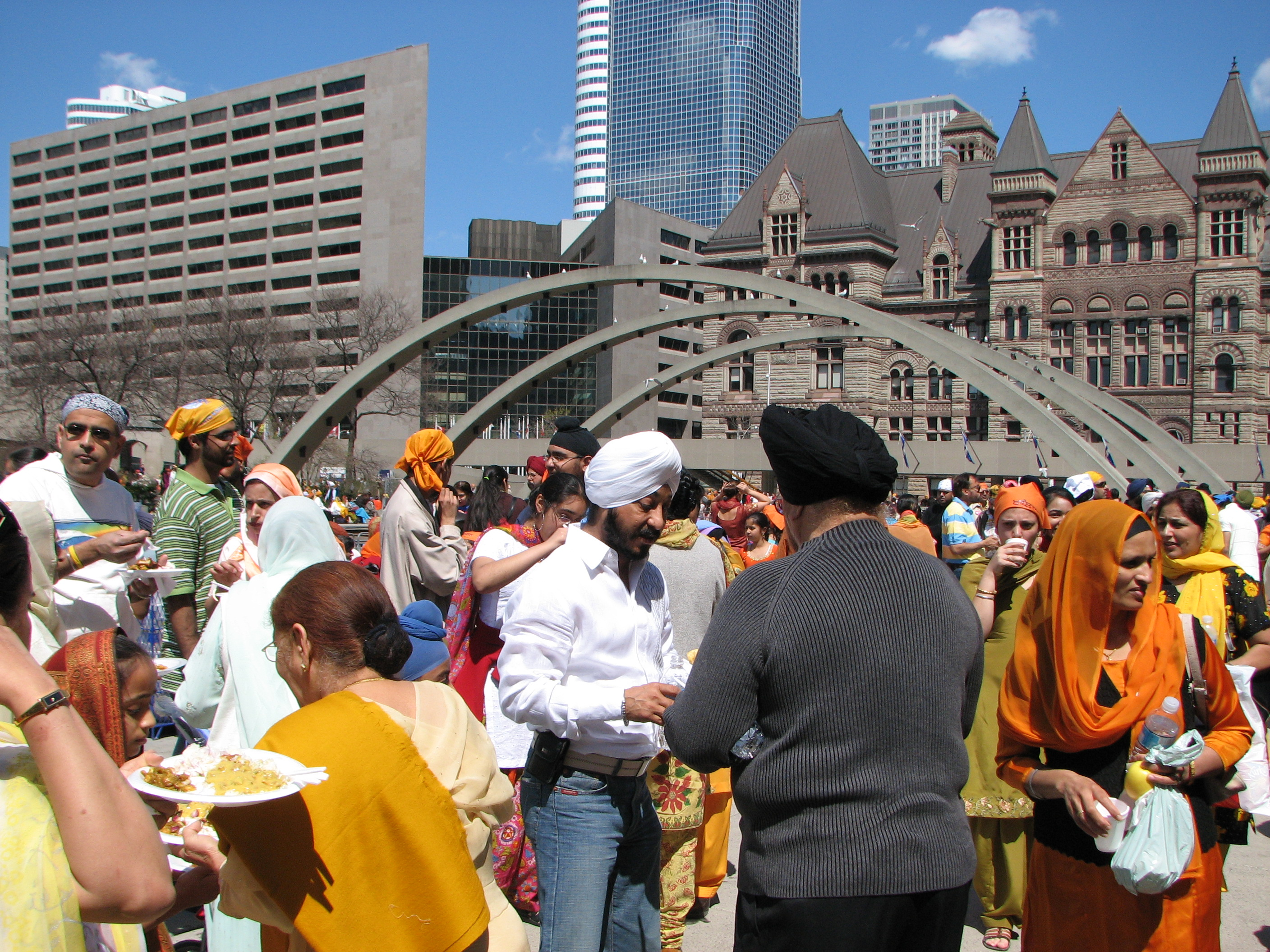 Indian festival in Toronto