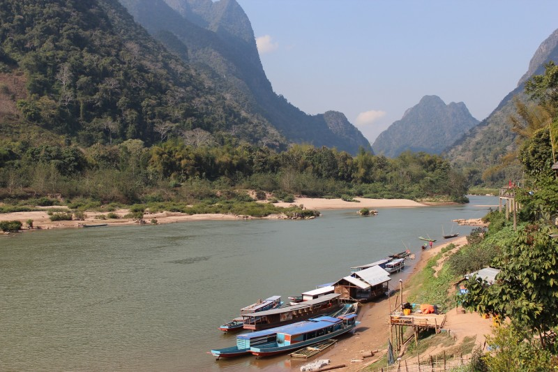 River view in Muang Noi