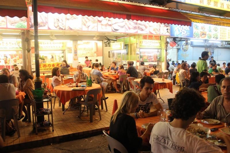 Local eating, Kuala Lumpur