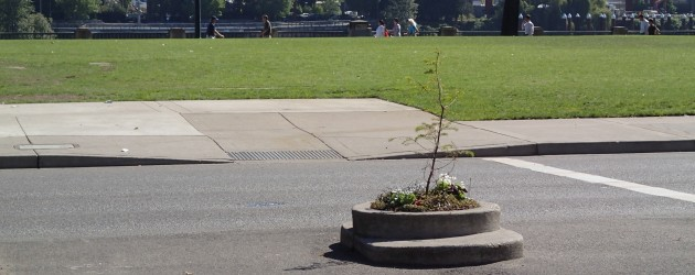 Smallest park in the world