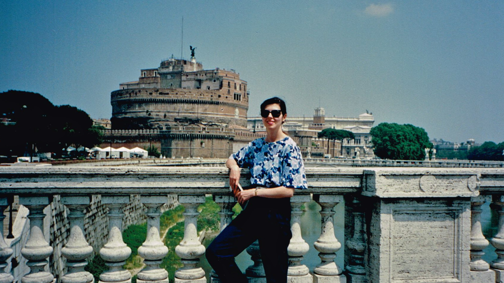 First trip overseas, 1992