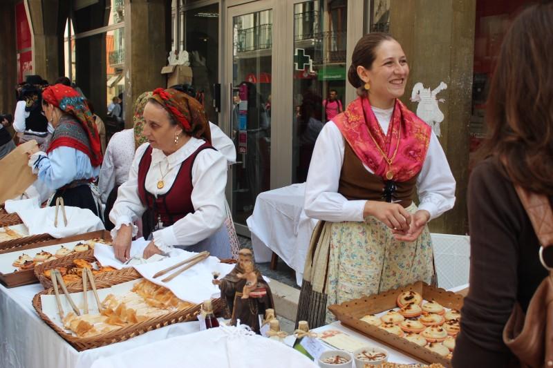 Street sale, Coimbra, Portugal