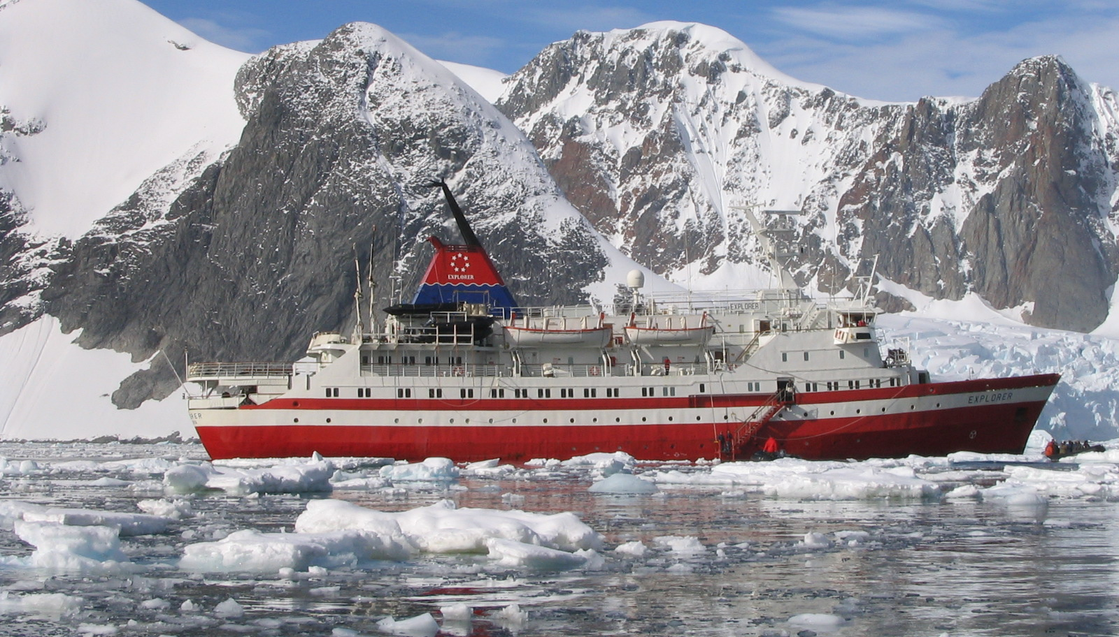 My first major boat trip (Antarctica, 2005)