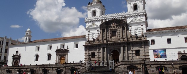 San Francisco church, Quito