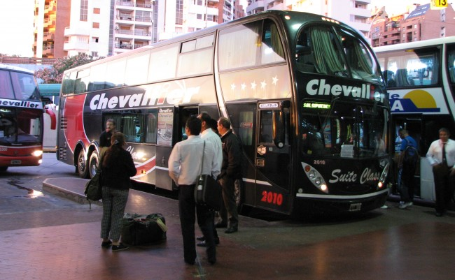 These Argentinian buses let you lie down flat
