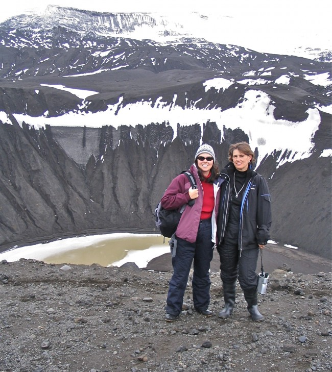Top of the caldera, Deception Island, Antarctica