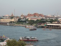 View across the river from Wat Arun