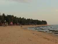 Klong Khong beach, looking south