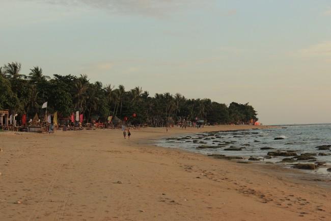 Klong Khong beach, looking south