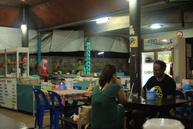 Cha Cha restaurant (Klong Khong beach)