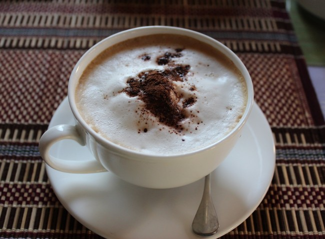 "Cappuccino at ""The Road to Inle"""
