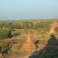 Stupas as far as the eye can see