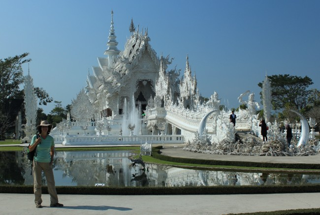 More photos of the White Temple...