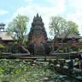 Ubud Water Temple and lotus pond (Ubud Bali)