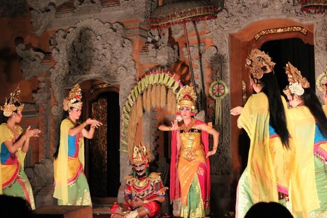 Balinese dance performance (Ubud Bali)