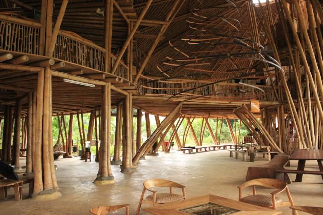 Green School cafeteria (Ubud Bali)