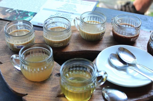 Coffee and tea tasting (Ubud Bali)