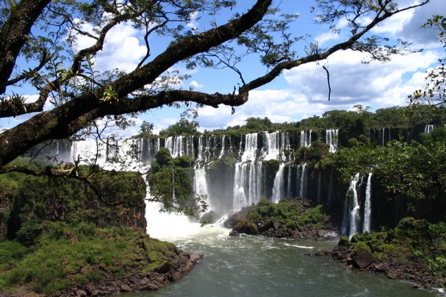Iguassu, Argentina - here is a waterfall worth its salt!