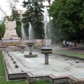 Mendoza square, Argentina (itinerary in South America)