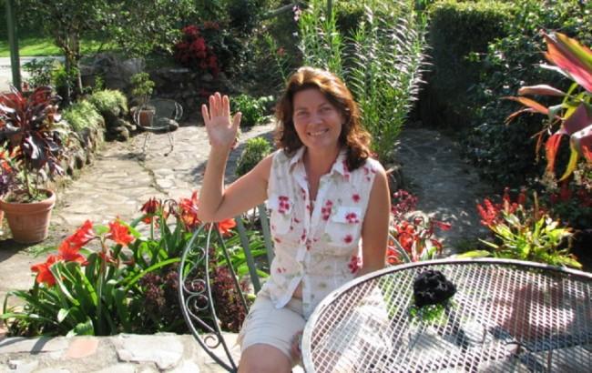 Linda, a nice Québécois woman I met in Panama.
