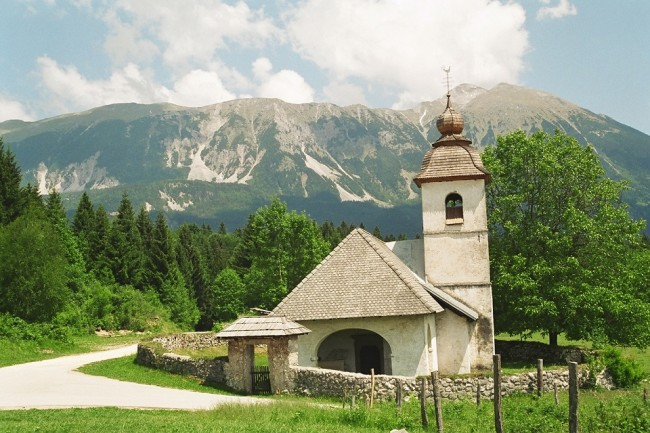 Little church near Bled, Slovenia