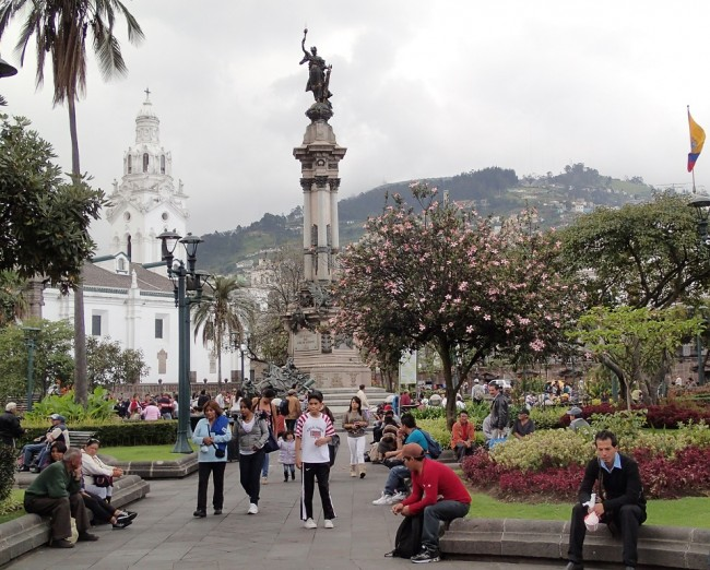 Quito, Ecuador (destinations for solo travel)