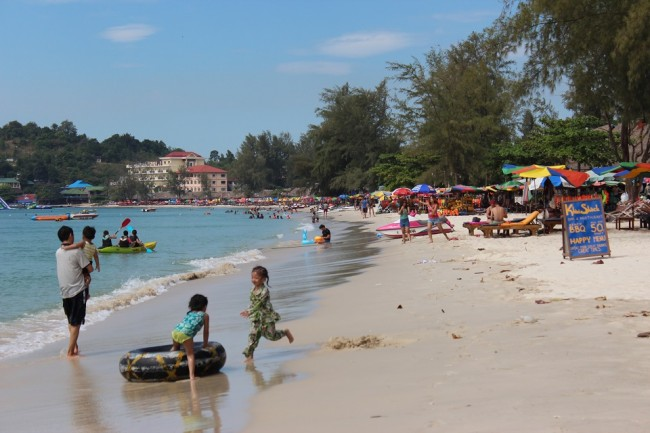 Serendipity Beach, Cambodia (destinations for solo travel)