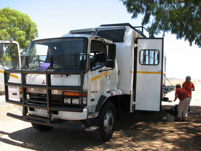 Expedition truck, Namibia