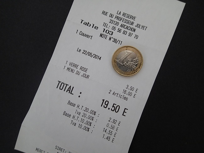 Tipping in France