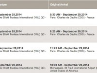 Air France cancelled flights
