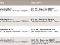 Air France cancelled flights