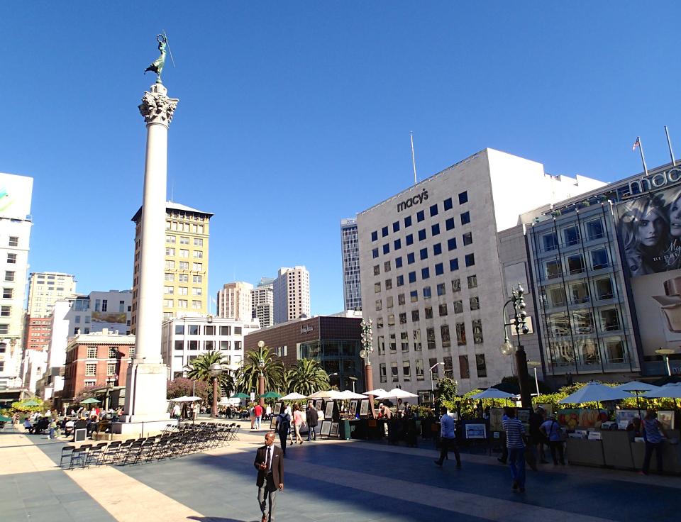 Union Square San Francisco Car Park