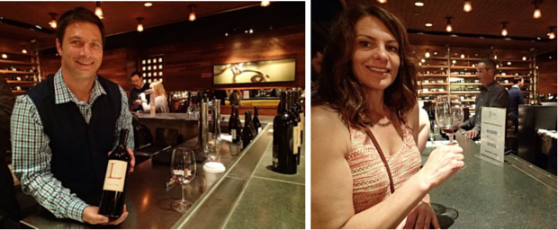 Tasting Lacuna wines