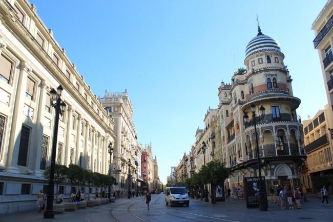 Avenida de la Constitución (2 days in Seville)