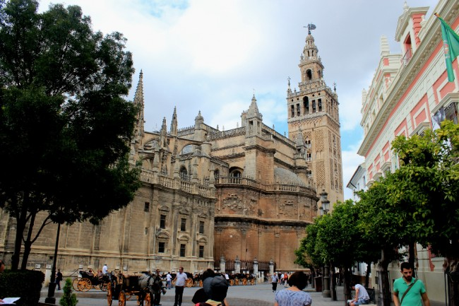 Cathedral and Giralda (2 days in Seville)