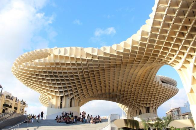 Metropol Parasol (2 days in Seville)