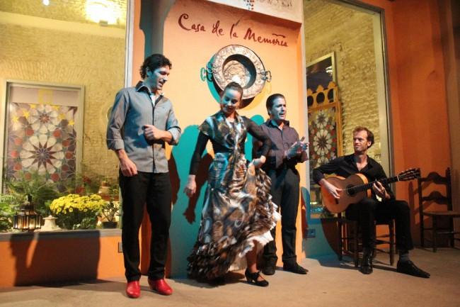 Flamenco performers (2 days in Seville)