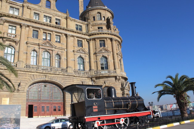 Haydarpaşa train station on the Asian side of Istanbul