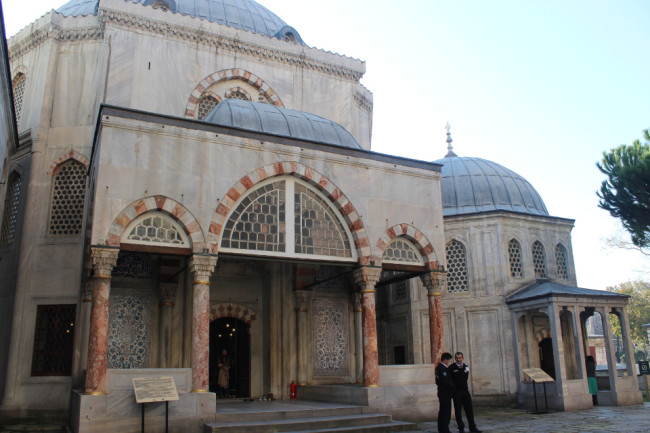 Sultans' tombs (Sultanahmet, Istanbul)