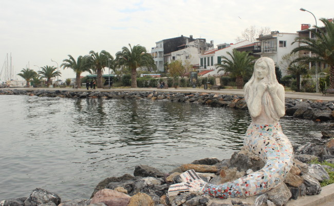 The mermaid of Büyükada