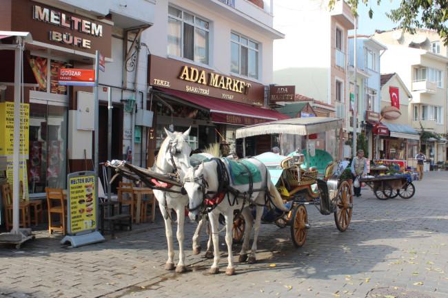 Heybeyliada's main street