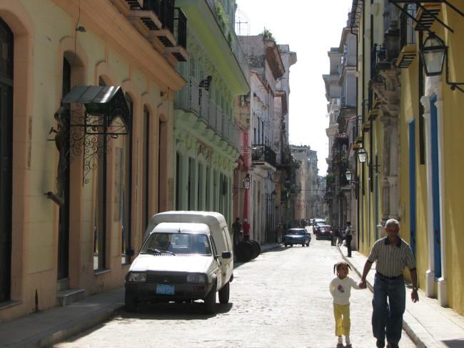 A street in La Habana (Cuba)
