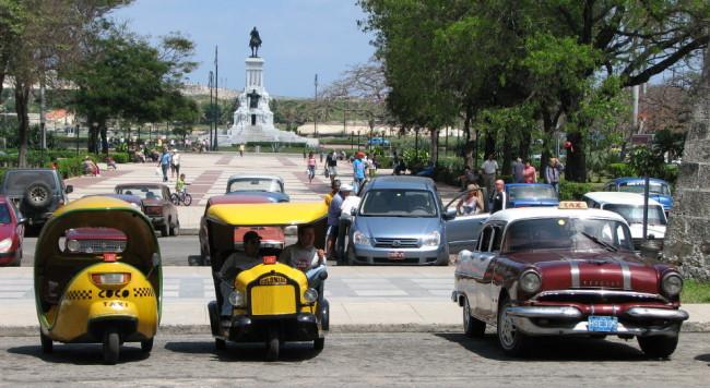 Taxis in La Habana (Cuba)