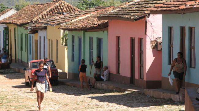 A typical Trinidad street (Cuba)