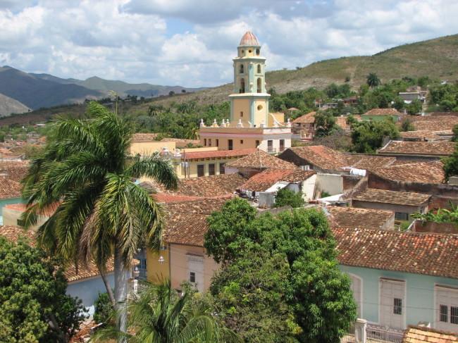 Rooftops of Trinidad (Cuba)