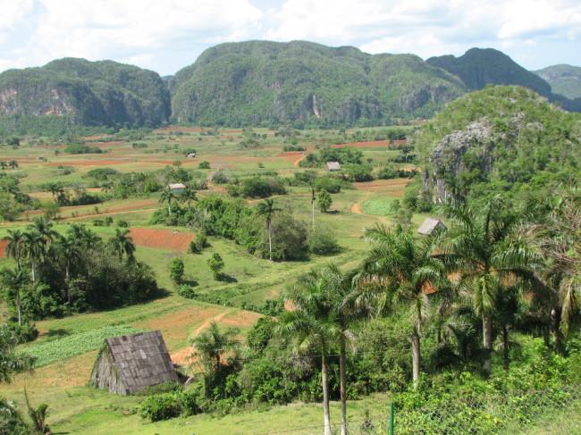 Landscape around Viñales (Cuba)