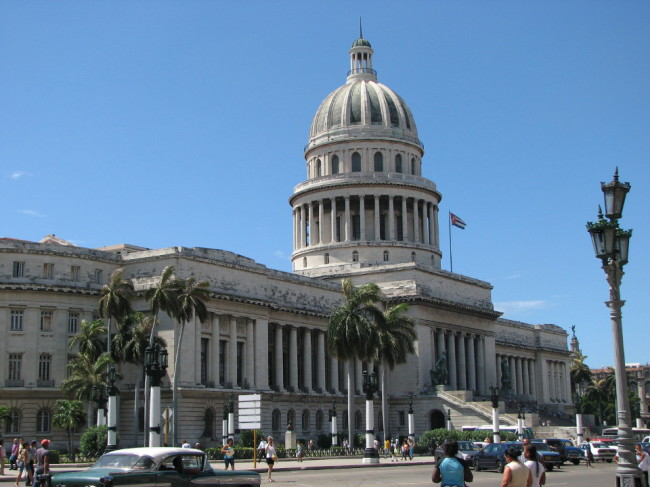 The National Capitol building in la Habana (Cuba)
