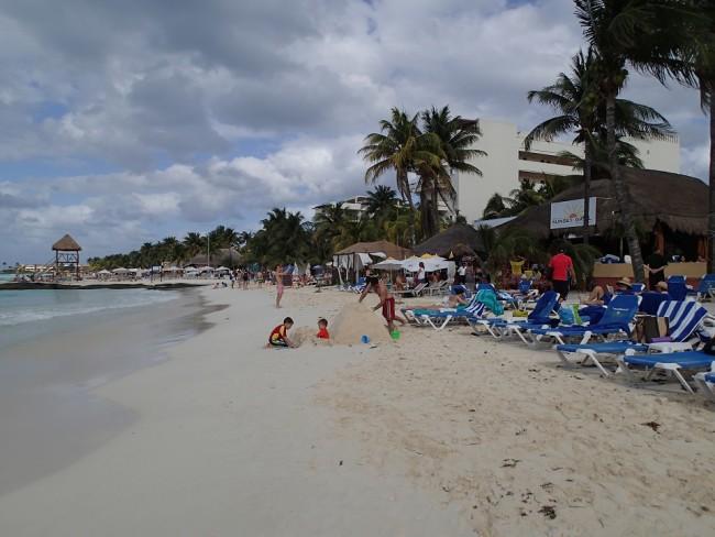A stretch of Playa Norte (Isla Mujeres)