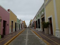 Colourful colonial houses (Campeche)